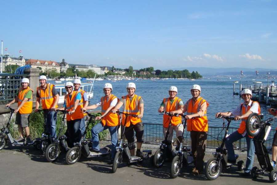 Segway City Tours Segway Alternative: E-Scooter Tour