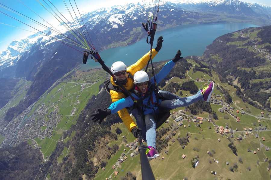 tandem-flights Paragliding Beatenberg