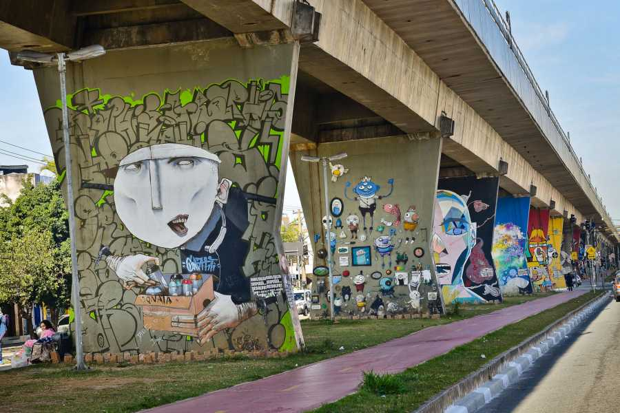 Around SP PRIVATE STREET ART TOUR OF SAO PAULO (3h)