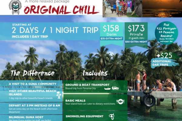 Original Chill - San Blas islands trip