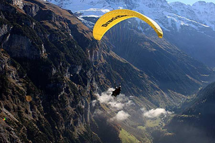 tandem-flights Paragliding Mürren