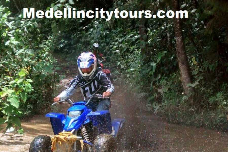 Medellin City Services Combo Tour: ATV and Christmas Lights Tour of Medellin
