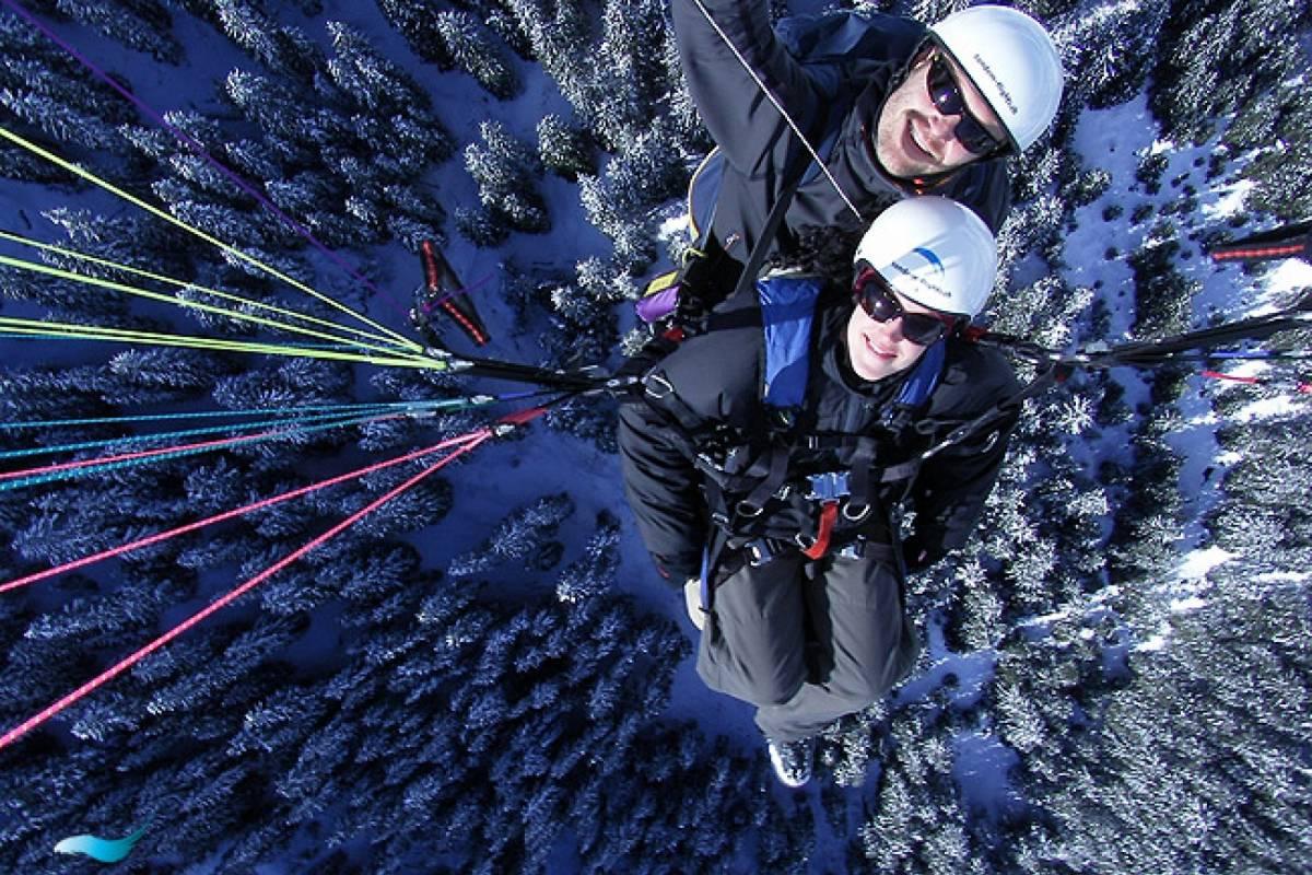 tandem-flights Paragliding First