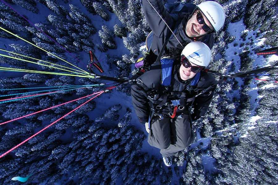 tandem-flights Paragliding First