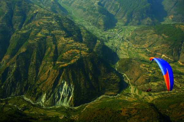 Paragliding Cross country Tandem Pokhara