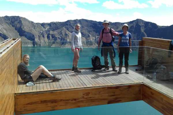2 days hike Quilotoa