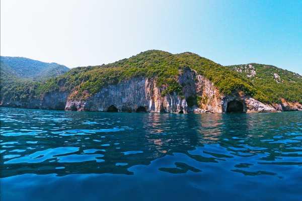"Leventis 360 IKE ""Poseidon's Caves"" Pelion Boat tour"