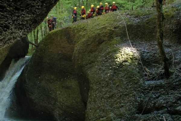 Outdoor Interlaken AG Canyoning Zulg