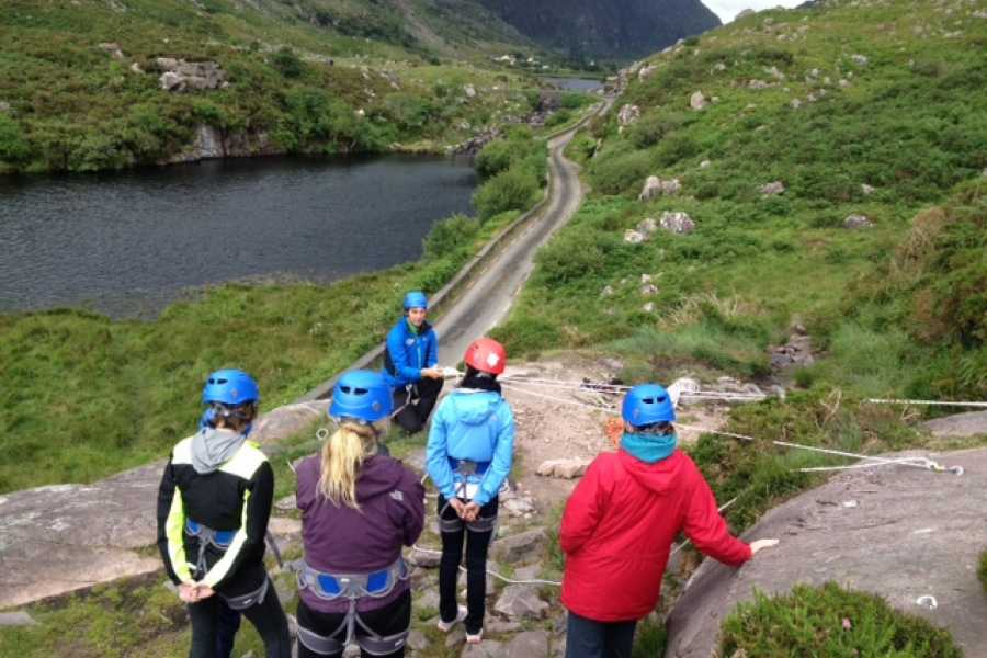Wild N Happy Group Ltd DT Killarney - Rock Climbing and Abseiling