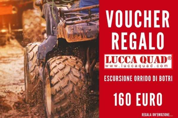 Lucca Adventure Sport Voucher 160 €