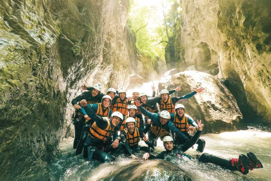 Outdoor Interlaken AG 인터라켄 캐녀닝 (Canyoning Interlaken)