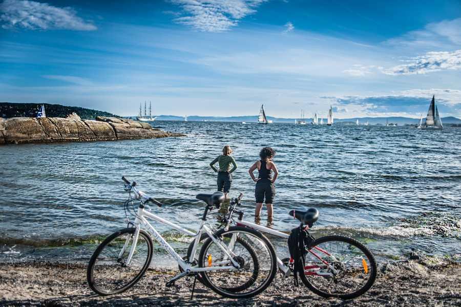 Viking Biking & Hiking Private Bike Tour: Vikings & Beaches