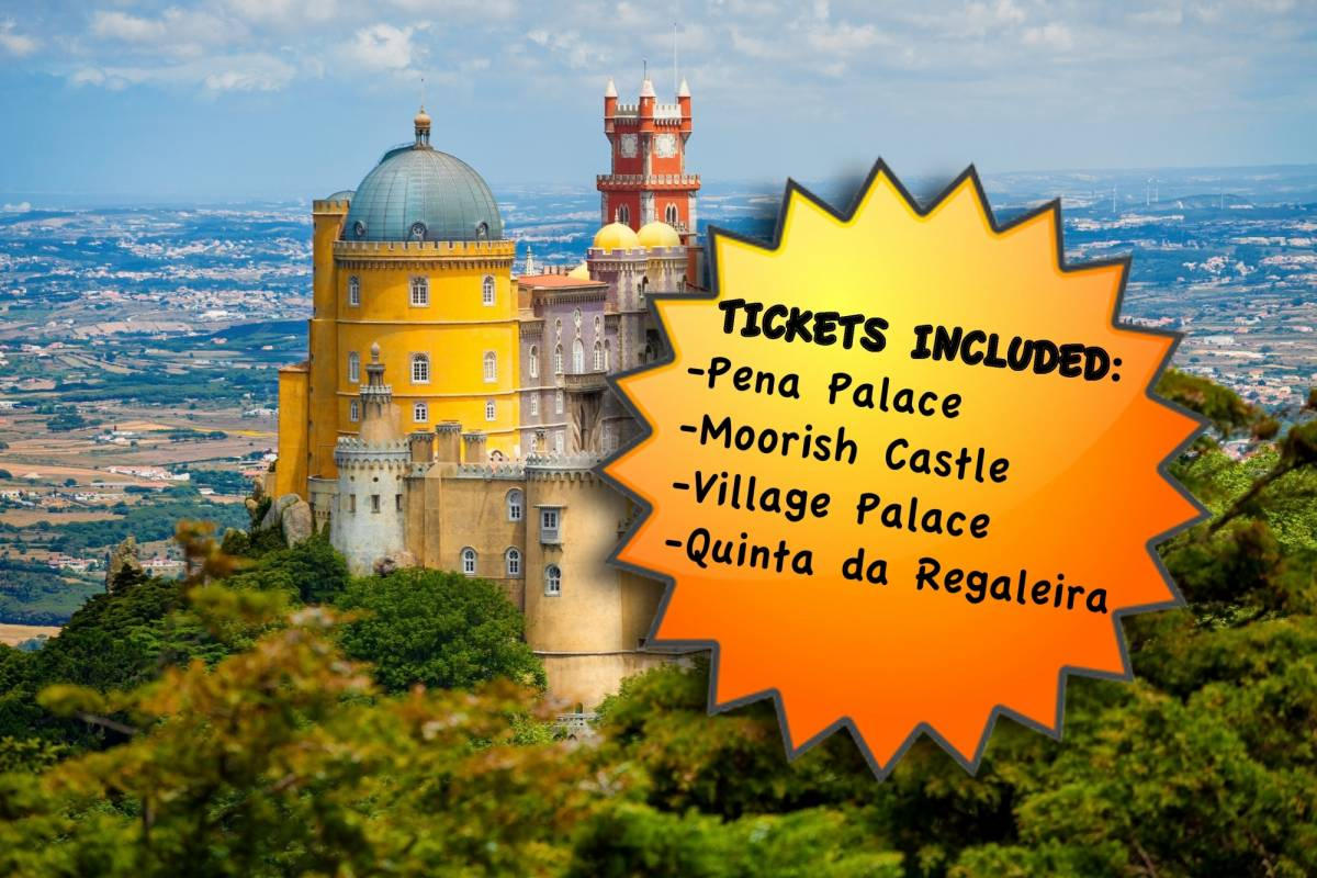 Lisbon On Wheels Private Monuments tour to Sintra From Lisbon (Tickets Included)