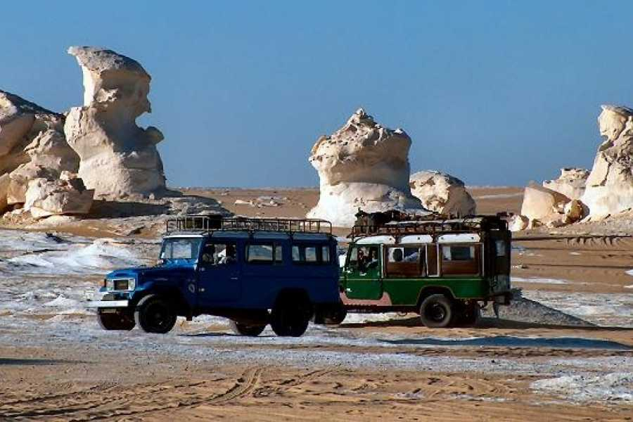 Deluxe Travel 1 Night White Desert Safari