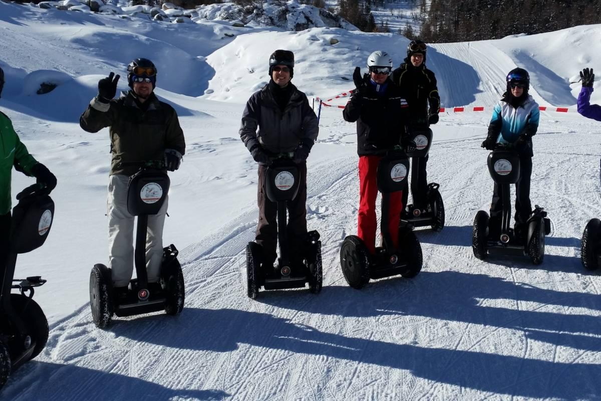 Segway City Tours Segway Tour St. Moritz /  Engadine