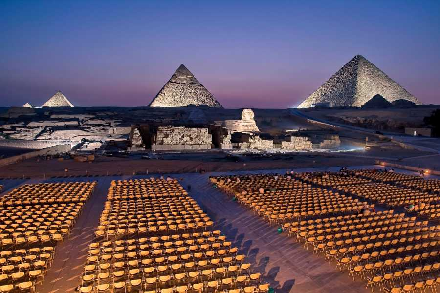 Deluxe Travel Sound and Light Show Pyramids of Giza