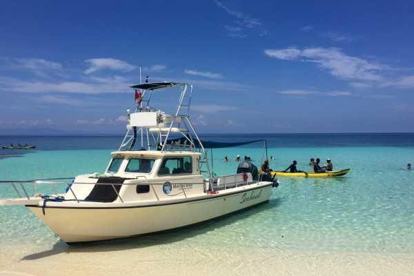Excursion en bateau a Anse à Raisins, Ile de la Gonâve