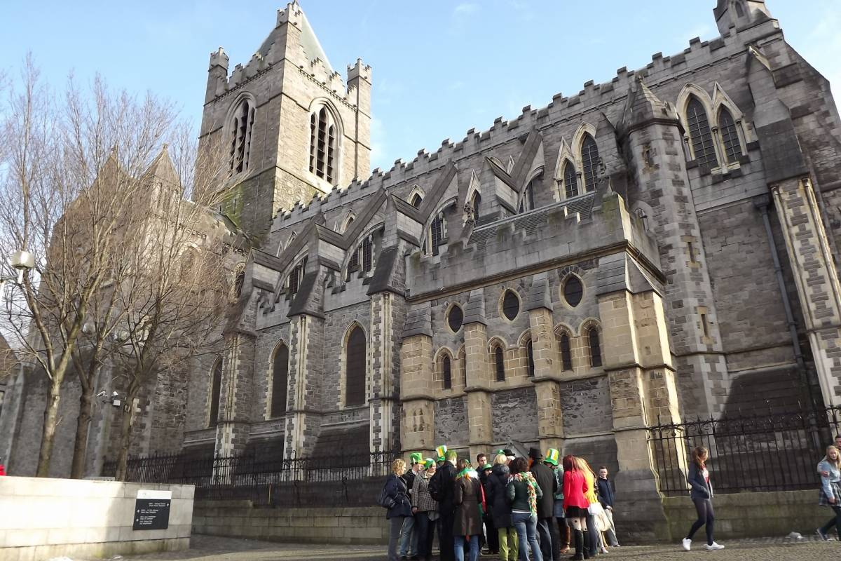 Pat Liddy's Walking Tours of Dublin In the Footsteps of St. Patrick