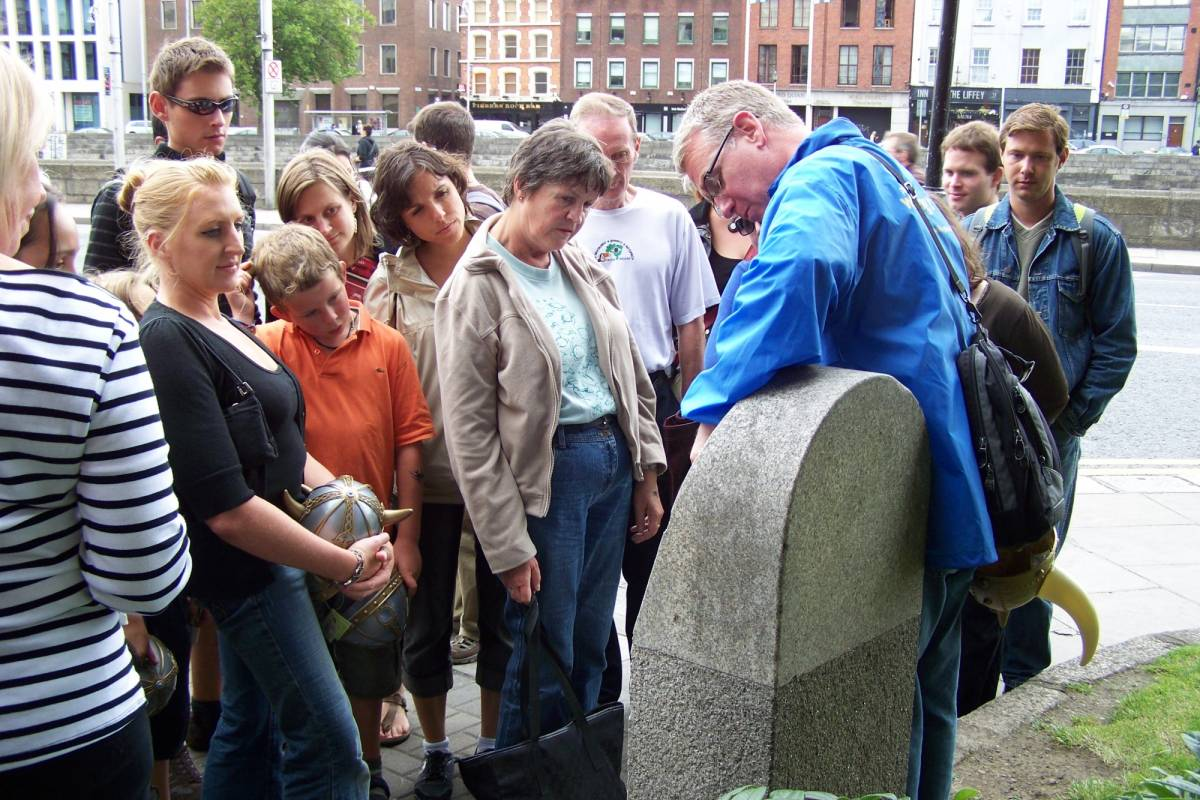 Pat Liddy's Walking Tours of Dublin 3. Das Beste von Dublin