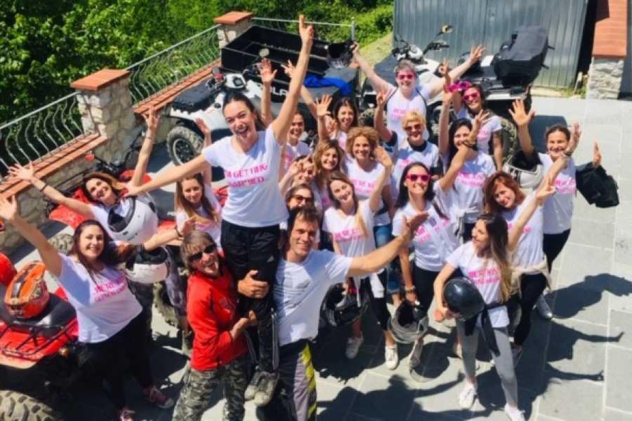 Lucca Adventure Sport Quad Addio al Nubilato