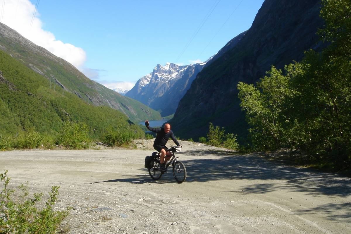 Contrast Adventure Norway Bike tour Oppdal - Åndalsnes