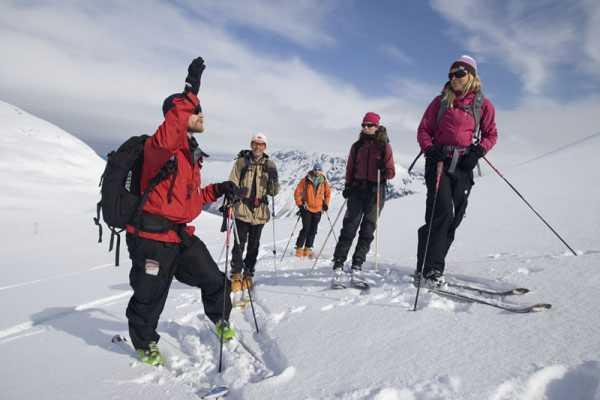Contrast Adventure Norway Privat skredkurs