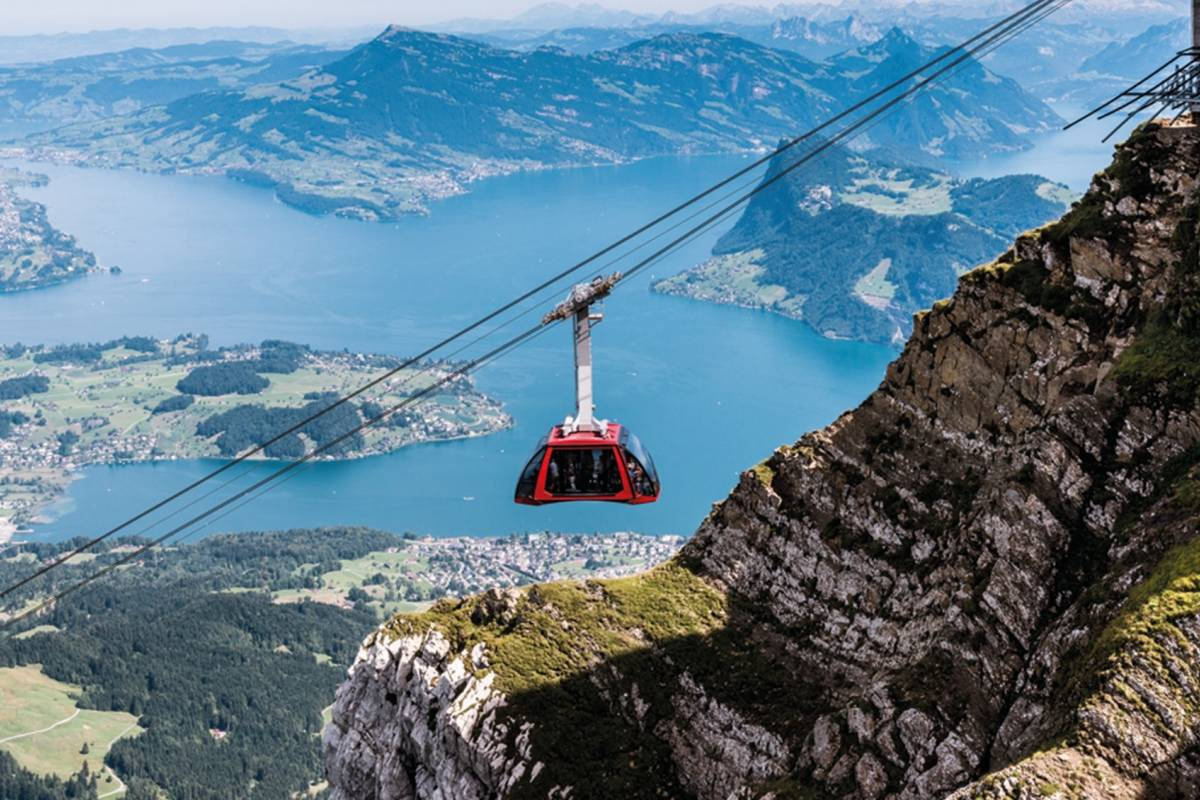 Best of Switzerland Tours Pilatus – El Circuito Dorado (Verano)