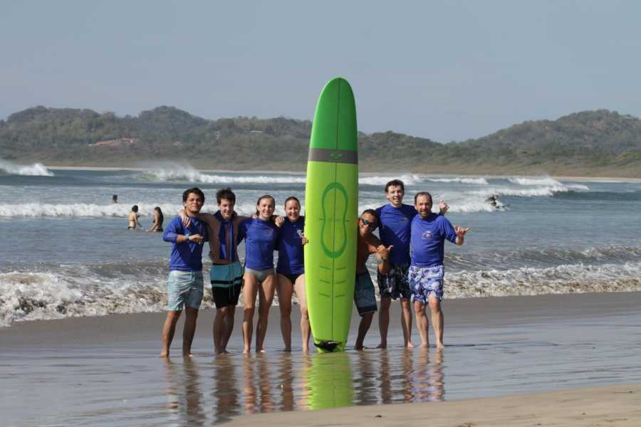 Kelly's Costa Rica A Group Surf Lesson