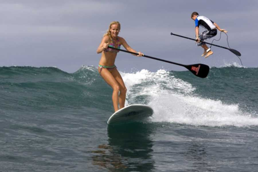 Kelly's Costa Rica Paddle Boarding Surf Lesson