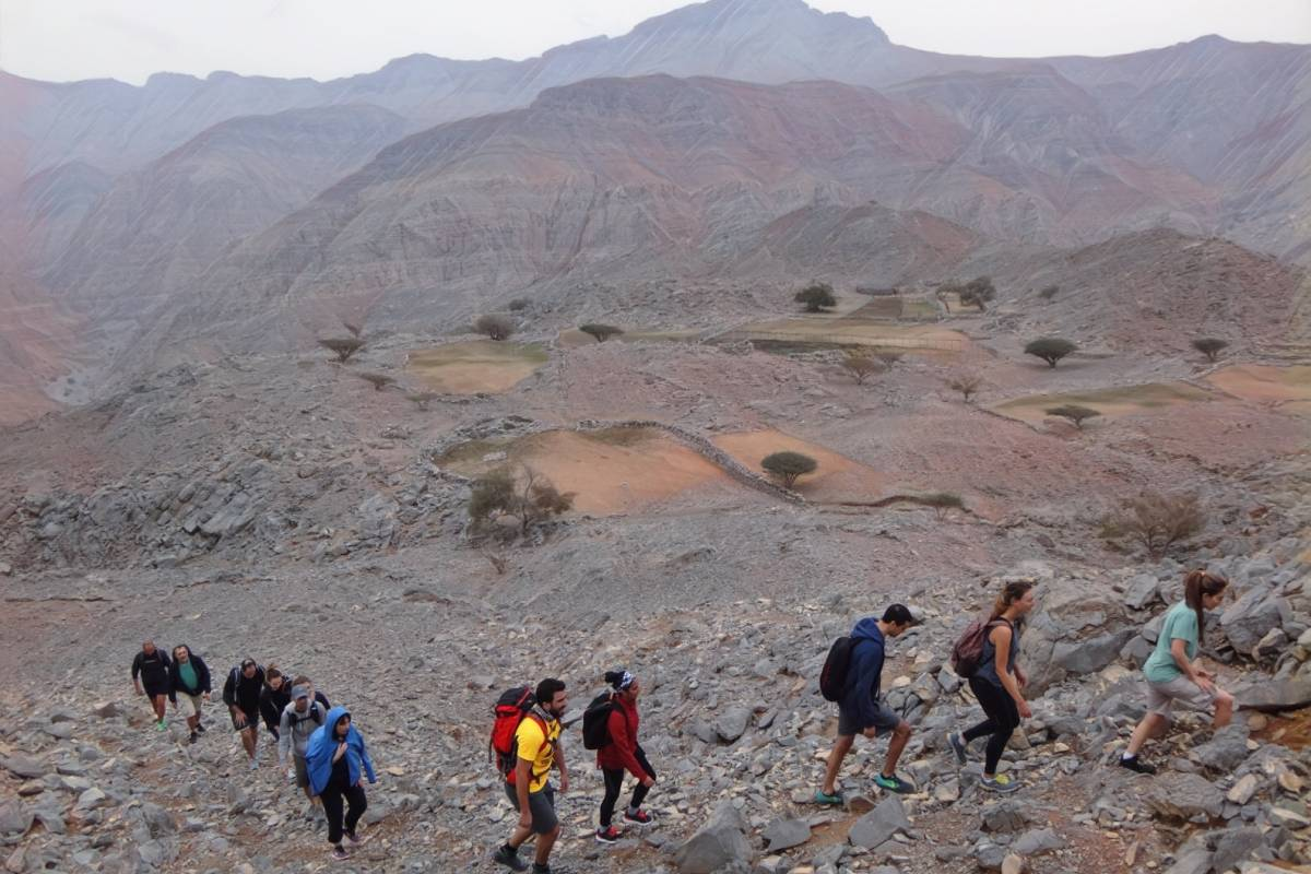 Adventurati Outdoors Lost Trail of a Beduin land - UAE
