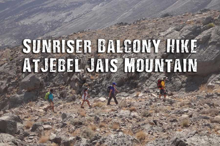 Adventurati Outdoors Sunriser Balcony Hike - Jabel Jais
