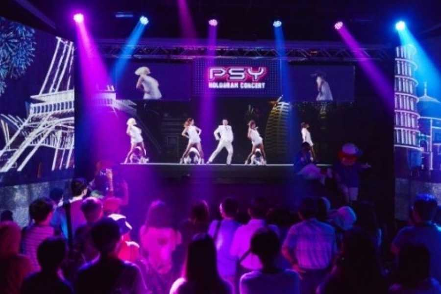 Kim's Travel K-pop Hologram Concert & B-boy Performance