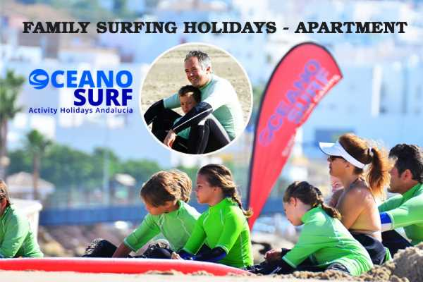 Oceano Surf Camps Family Surfing Holidays 2018 -  Private Apartment Conil