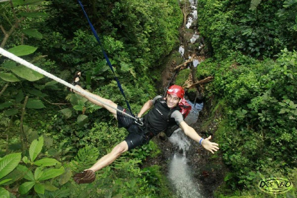 Kelly's Costa Rica Arenal Waterfall Rappel