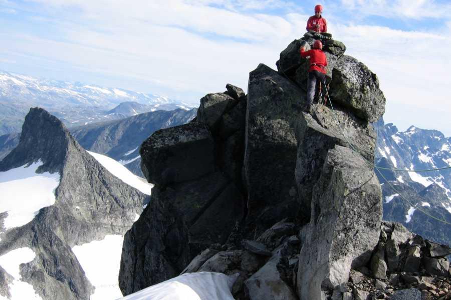 Jostedalen Breførarlag Alpinkletterkurs