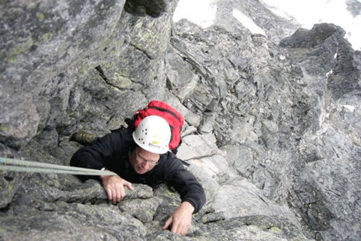 Jostedalen Breførarlag Mini-rock climbing course