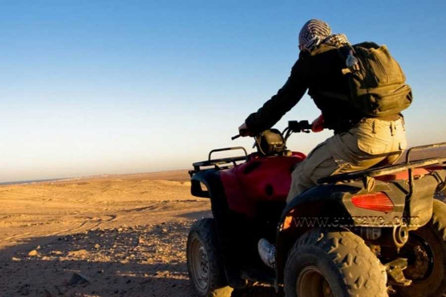 Deluxe Travel Desert Safari ATV Quad Biking Around Pyramids of Giza