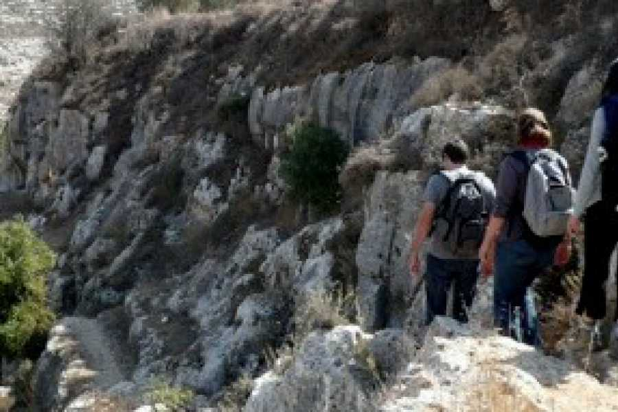 Siraj Center Jerusalem Wilderness Walk, 2-4 October 2018