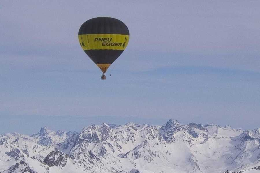 HB Adventure Switzerland AG Alpine Heissluftballonfahrt