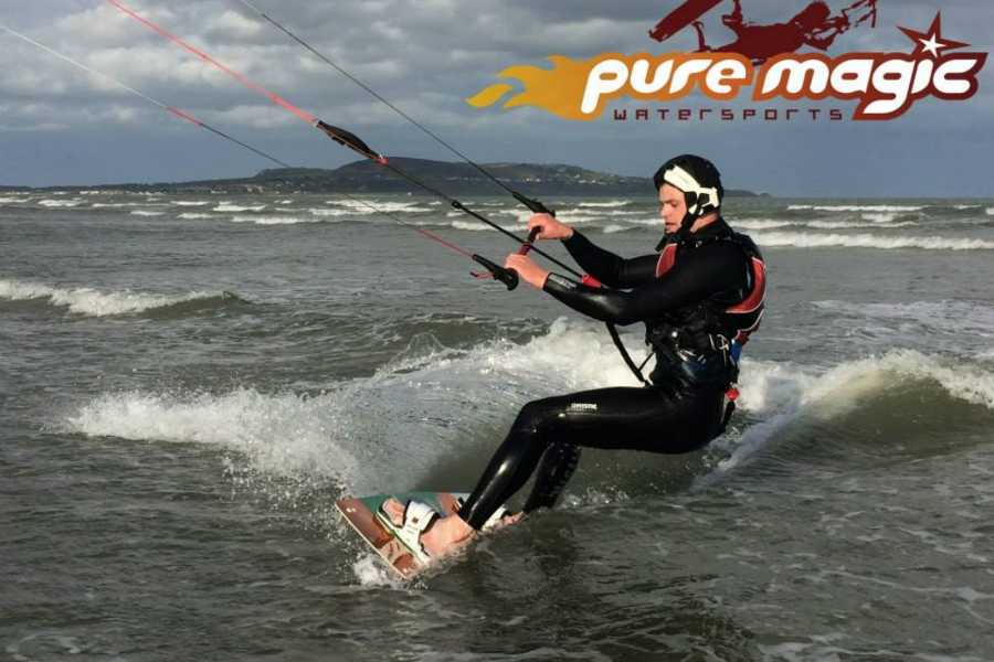 pure magic watersports Kitesurfing full package of 12hrs