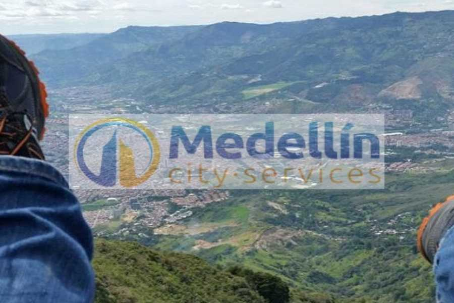 Medellin City Tours Private Paragliding Experience