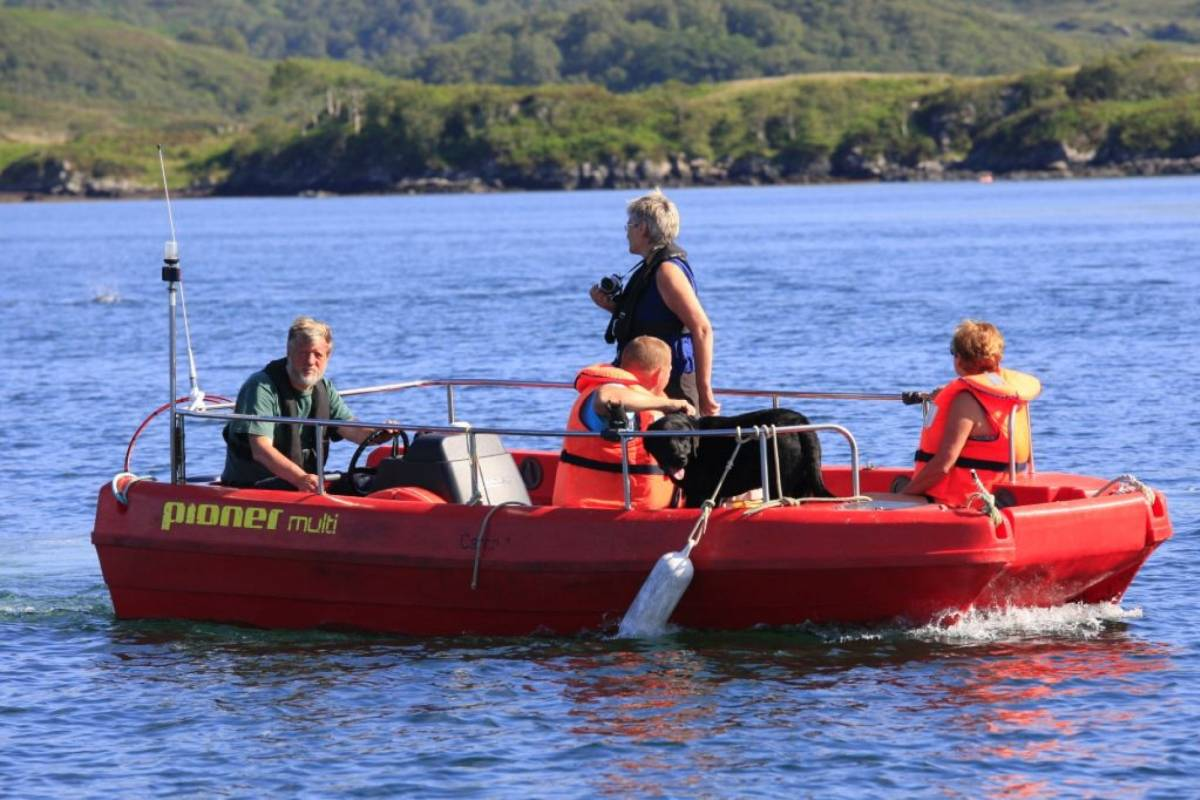 Ardnamurchan charters 4 hour boat hire