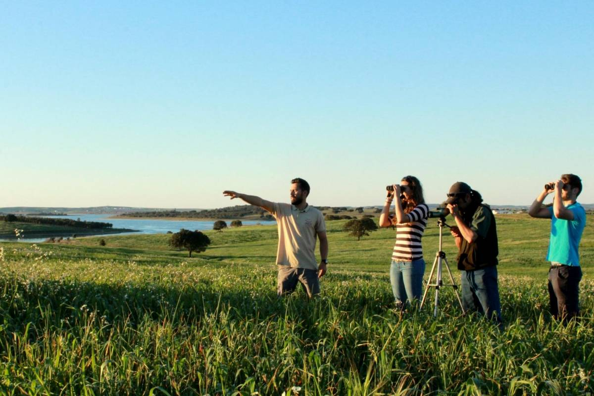 Emotion - life on adventure 4x4 Tour - Birdwatching na herdade