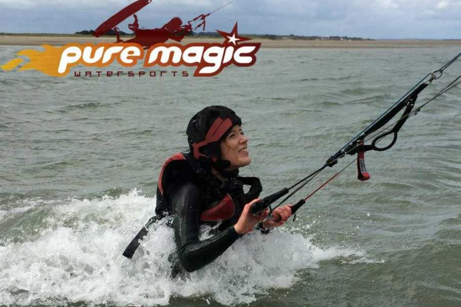pure magic watersports Kitesurfing lessons 3 sessions (9hrs)