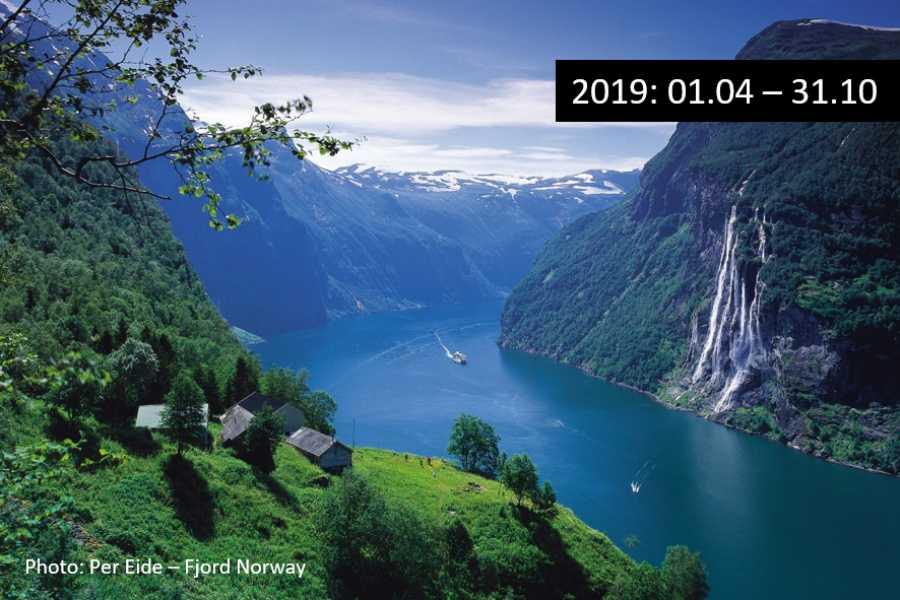 FRAM Round trip to UNESCO Geirangerfjord