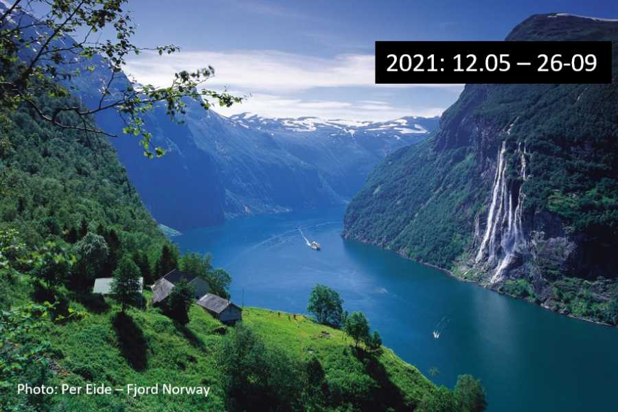 Travel like the locals (Møre og Romsdal) Round trip to UNESCO Geirangerfjord