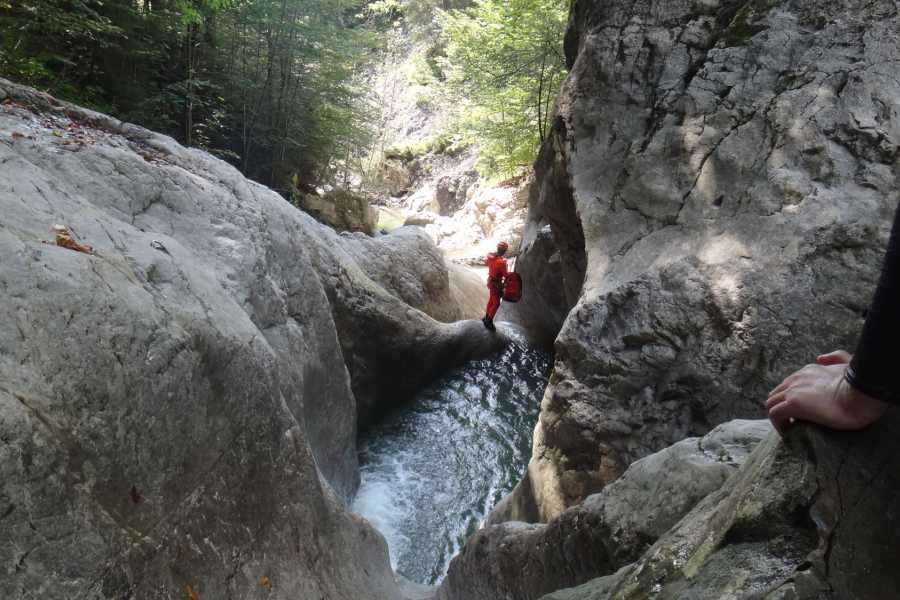 Die Canyonauten Canyoning Lechtal