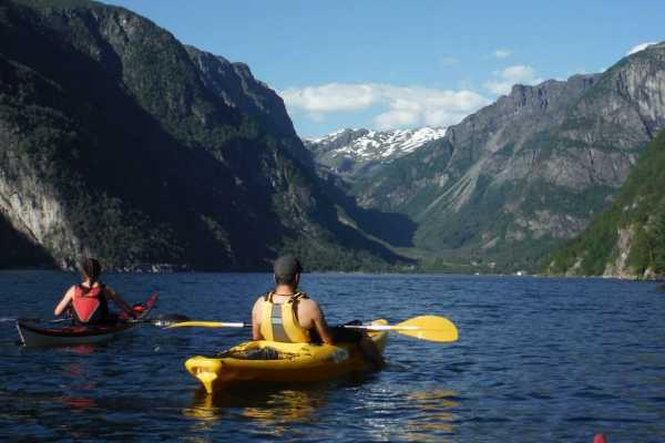 Be Nature Drift AS GUIDED KAYAK ULVIK
