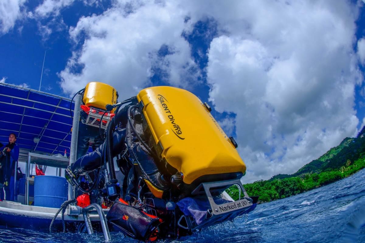 Aquanauts Grenada Rental APD Inspiration Evolution