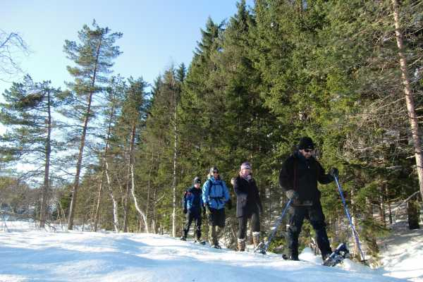 B-Nature A/S SNOW SHOE HIKE